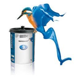 waterbase mettalic kleur 0.25 liter